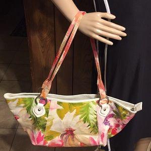 Maurizio floral Leather Bag